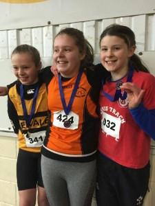 U12 long jump. 3rd. Ava Rochford