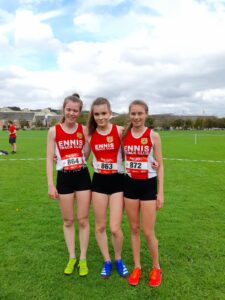 Ennis Track Girls