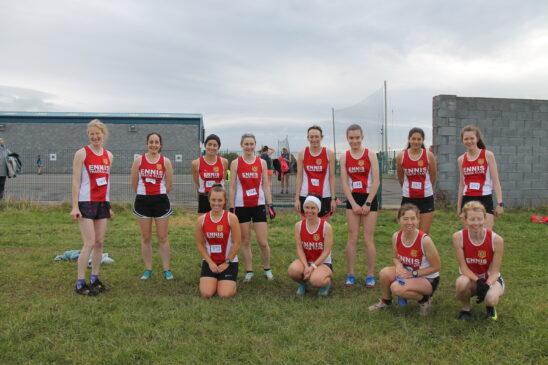 Ennis Track Junior Novice Master Women