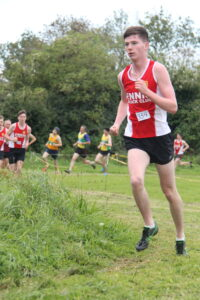 Luke Griffin at the 2020 Clare XC
