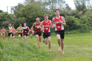Conor Faulkner at 2020 Clare XC