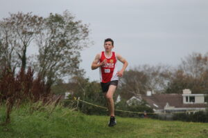 Colin Ryan taking part in Clare's XC