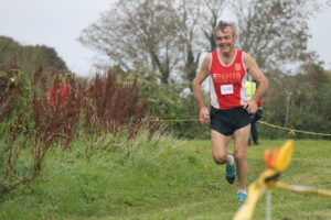 Sean Whelan enjoying the Clare's XC